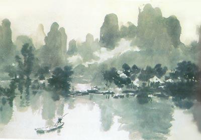 桂林山水画