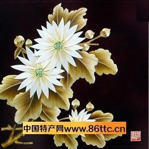 麦杆画,中国民间剪贴画的一种,它取材于小麦杆,经蒸,煮,浸,剖,刮