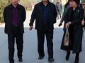 德州市粮食局局长王健民、北京京粮集团董事长来麦香园公司洽谈