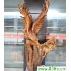 香樟根雕-雄鹰