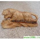 樟木根雕-老虎